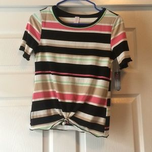 Multi colored shirt
